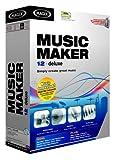 Magix Music Maker 12 Deluxe - Software de edición de audio/música (900 MB, 256 MB, 700MHz, CD/DVD ROM 16-bit sound card 4MB VRAM, 512 MB, Caja)