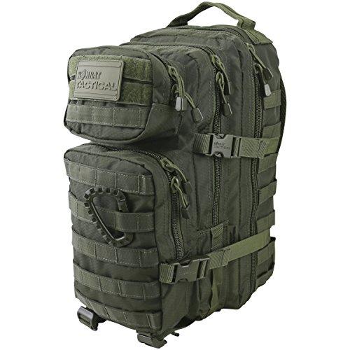 Kombat UK hex-tac klein MOLLE Assault Pack Einheitsgröße olivgrün