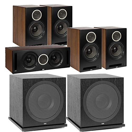 Review Of ELAC Debut Reference DB62 5.2 Channel Bookshelf Surround Sound Home Theater System with Su...
