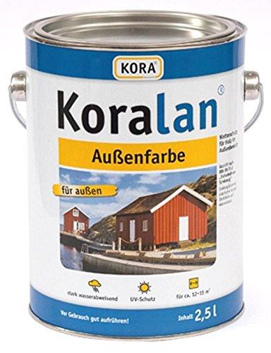 Kora Koralan Außenfarbe 2,5l Farbton: Weiß