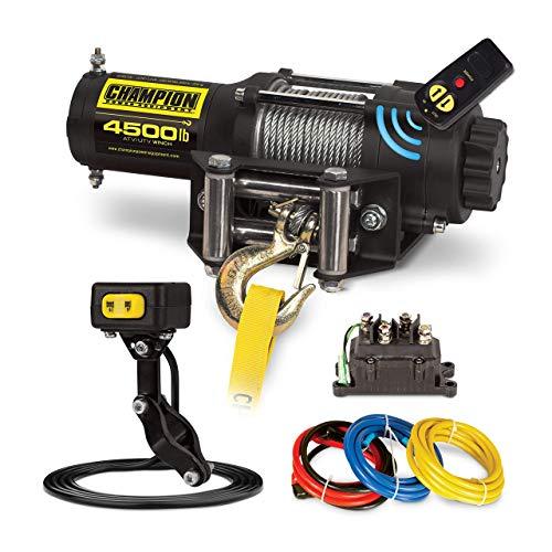 Champion 4500-lb. ATV/UTV Wireless Winch Kit (Renewed)