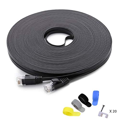Cat 6 Ethernet Cable 100 ft (at a Cat5e Price but Higher Bandwidth)...