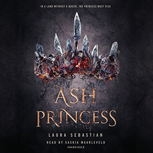 Ash Princess audiobook cover art
