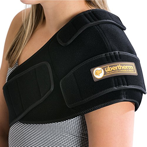 übertherm Shoulder Pain Relief Cold Wrap: Heal Faster, Feel Better. Sting-Free Cold Therapy and Sports Icing – This Item is Side-Specific