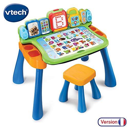 VTech – Magi Schreibtisch, 4-in-1, mit Schreibfunktion, 195805, mehrfarbig (französische Version)