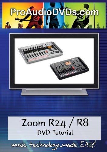Zoom R24/R8 DVD Video Tutorial Manual Help