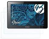Bruni Schutzfolie kompatibel mit Lenovo A10-70 Folie, glasklare Bildschirmschutzfolie (2X)