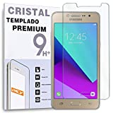 REY Protector de Pantalla para Samsung Galaxy Grand Prime G530, G30H, G531f, Grand Prime 2016, Cristal Vidrio Templado Premium