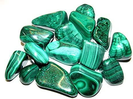 Zentron Crystal 2021new shipping free shipping Collection: Natural Green Malachit Tumbled Large Max 76% OFF