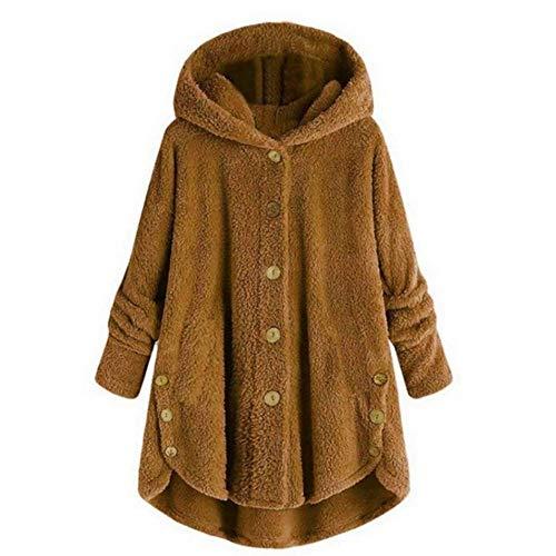 CUIZC Sudadera con Capucha para Mujer tamaño Grande suéter para Mujer otoño...