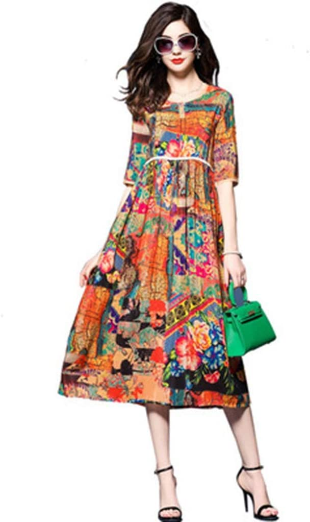Dress,Women's Cocktail Formal Swing Print Dress Our shop most popular Color Spring new work Loose
