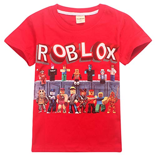 Kids Boys Roblox Fútbol Juegos Family Gaming Team Tops tee...