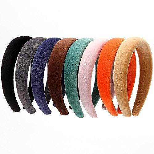 LONEEDY Paquete de 8 bandas de pelo de piel sintética de 2,5...