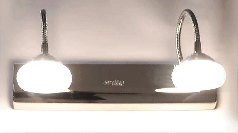 Miaoge Modern minimalistisch Spiegel vordere Lampe LED Nacht Schlauch Schlafzimmer Acryl Raumbeleuchtung Wei 300mm 12W