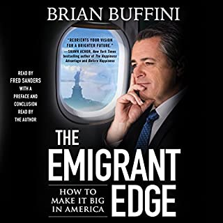 The Emigrant Edge audiobook cover art