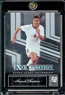 2007 Donruss Elite Extra Edition # 81 Brandi Chastain - Santa Clara - World Cup and Olympic Women's Soccer Superstar - Trading Card
