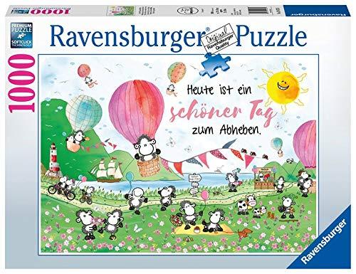 Ravensburger Puzzle 19473 - Ein toller Tag zum Abheben - 1000 Teile