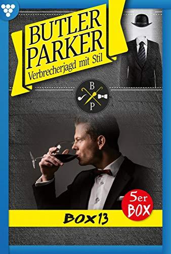 Butler Parker Box 13 – Kriminalroman: E-Book 66-70
