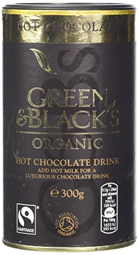 Green & Black's Organic Hot Chocolate, 300 g