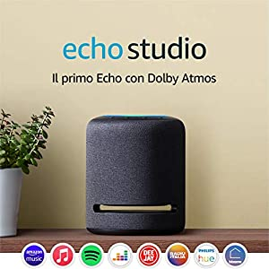 Echo Studio – Altoparlante intelligente con audio Hi-Fi e Alexa