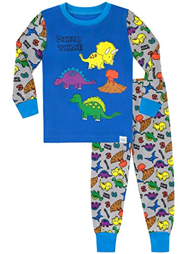 Harry Bear Pigiama a Maniche Lunghe per Ragazzi Dinosauri Vestibilitta Stretta Multicolore 18-24 Mesi