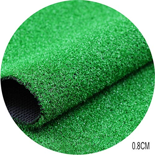 CarPet RDJSHOP Artificial Turf, Simulated Green Grass Turf Laying On Outdoor Grass Playground (Grass Height 0.8 Mm) (Size : 2x1.5m)
