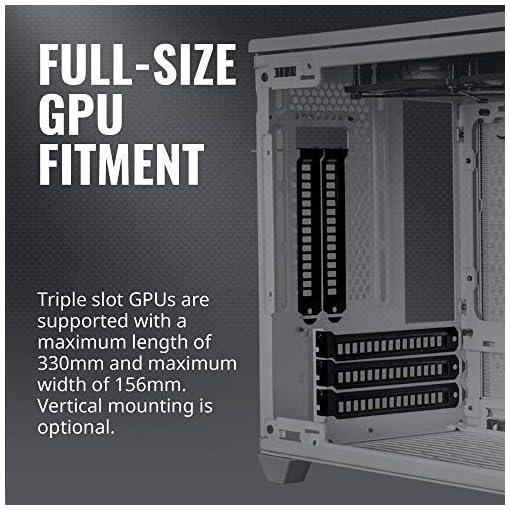 Cooler Master NR200 Caja Mini-ITX de Factor de Forma pequeño SFF Blanco con Panel ventilado, GPU de Triple Ranura, sin… 5