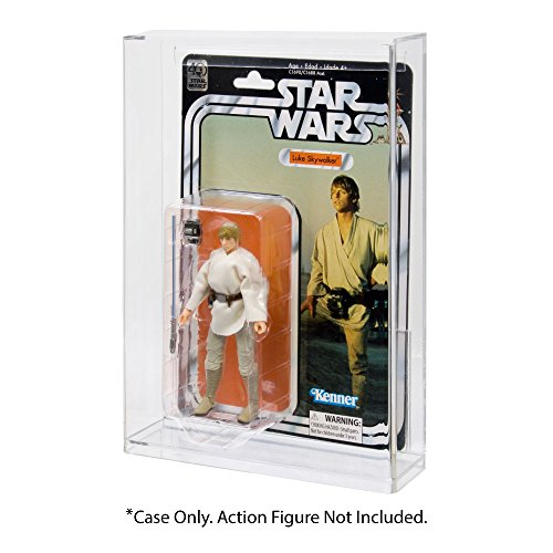 Star Wars Black Series 40th Anniversary Carded Action Figure Acrylic Display Case