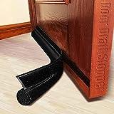 MAXTID Adjustable Door Draft Stopper 36 Inch Black Door Noise Blocker Seal Strip Front Draft Blocker for All Doors
