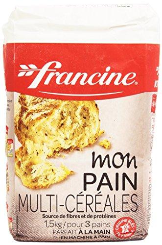Francine Farine Mon Pain Multi-Céréale, 1,5kg