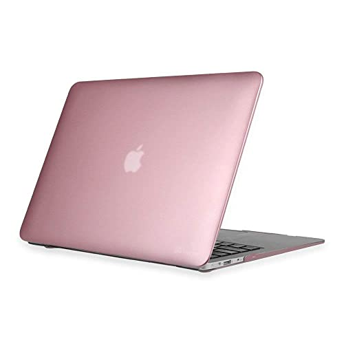 "LIANGUK Coque MacBook Air 13'' rigide à motif - Compatible avec Apple Mac Air ordinateur portable modèle A1369/A1466 Macbook Air 13"" Metal Series - Rose Gold"
