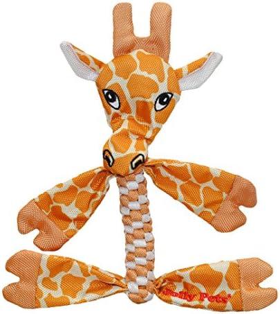 Jolly Pets Flathead Tug Squeak Dog Toy Giraffe Large Model Number FHG9 product image