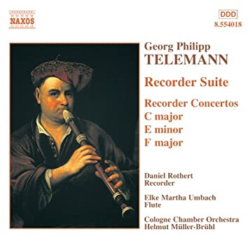 TELEMANN: Recorder Suite / Recorder Concertos