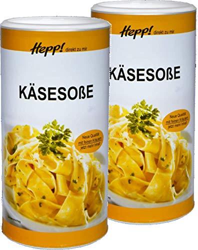 Hepp GmbH & Co KG - Käsesauce 1500 (2 x 750) GR
