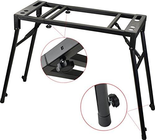 Keyboardständer Steinbach E-Piano Stativ Mixer Turntable Klapp Tisch Laptop Halter verstellbar in Höhe und Breite