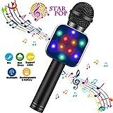 ShinePick Micrófono Karaoke Bluetooth, Microfono Inalámbrico Karaoke...