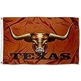 Texas Longhorns Bevo Eyes College Flag