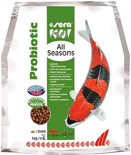 SERA Koi All Seasons Probiotic Nourriture pour Aquariophilie 5000 g