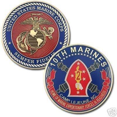 10th Marines Division Commemorative Coin
