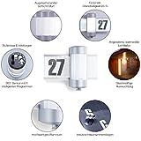 Steinel LED Hausnummernleuchte mit Bewegungsmelder im Test - 4