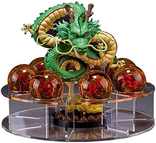 PsWzyze Anime-Modell,Dragon Ball Z Shenlong Shenlong Figur und 7 Dragon Ball Anime Balls