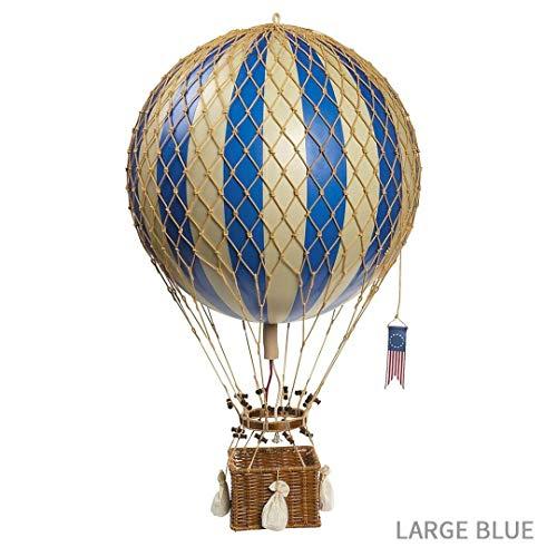 Globo aerostático color azul (32cm)