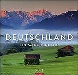 Deutschland - Ein Märchenland Kalender 2021: Ein Märchenland