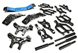Integy RC Model Hop-ups T3035GUN Suspension Kit Monster Evolution-5 for Traxxas T-Maxx (4907, 4908)