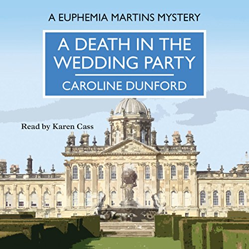 A Death in the Wedding Party audiobook cover art