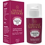 Best Natural Progesterone Creams - Internal Harmony Progesterone Cream, Contains Natural USP Bioidentical Review