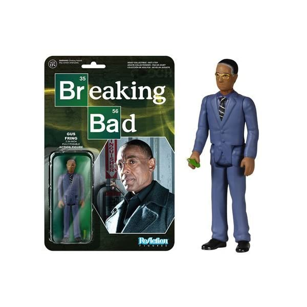 Breaking Bad Gustavo Fring ReAction 3 3/4-Inch Retro Action Figure by Funko 1