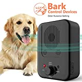 Anti Barking Device,Newly Outdoor Sonic Dog Bark Deterrent with 3 Adjustable Modes