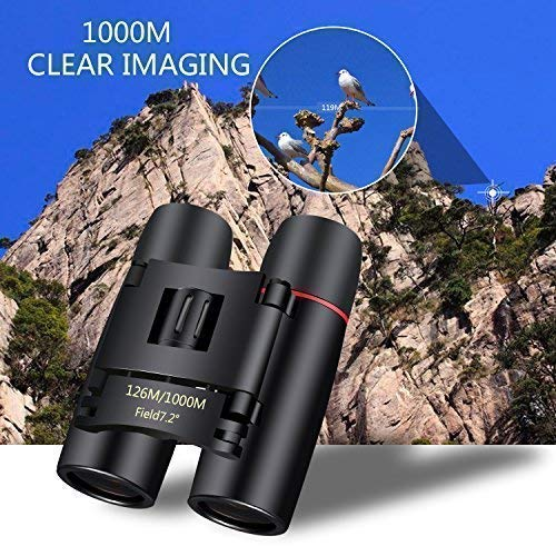 10×22 Compact Binoculars for Adults Kids Children, Lightweight Binoculars for Bird Watching Outdoor Hunting Camping Hiking Travelling Or Concert Theater Binoculars Compact with Opera Glasses