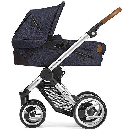 Mutsy Kinderwagen EVO - Industrial indigo / silver - Modell 2016